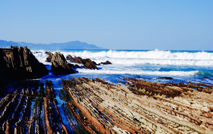 Flysch Zumaia. Northern Basque Country (Spain)