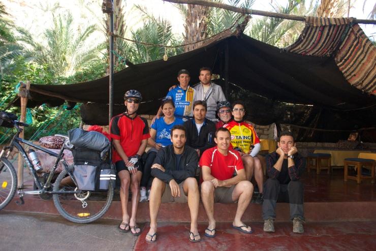 grupo en marruecos