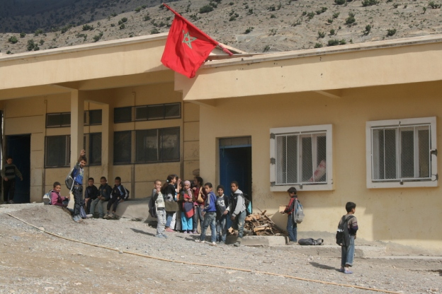 escuela en Tagoudit. Foto fran 138