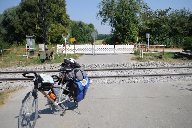 Salto de las vías del tren