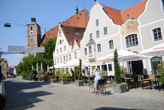 Centro histórico en Ingolstadt